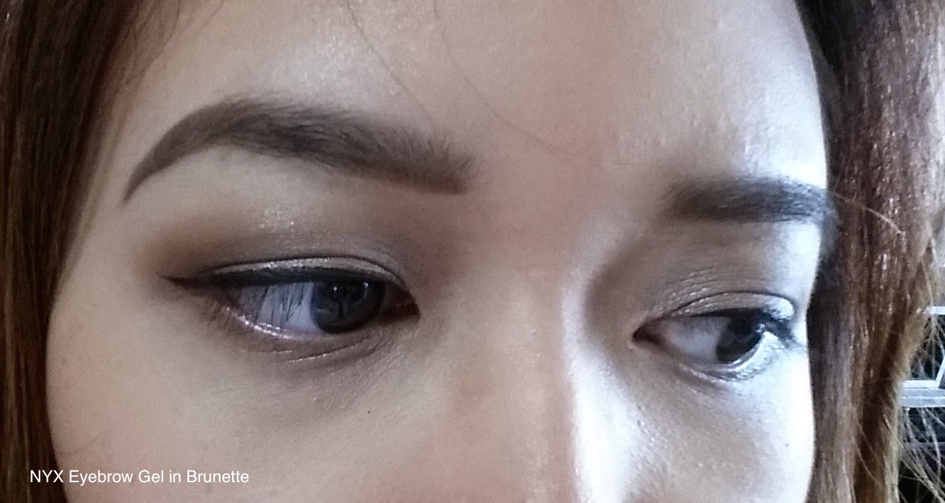 Beauty With Vina Review Nyx Tame Amp Frame In Brunette