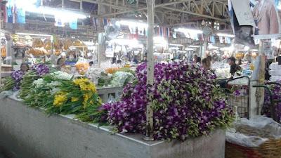 Mercado de las Flores de Bangkokg - Las orquídeas crecen muy bien en este clima húmedo y caluroso