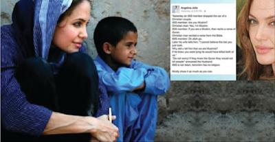 Angelina Jolie, Terorist has no religion