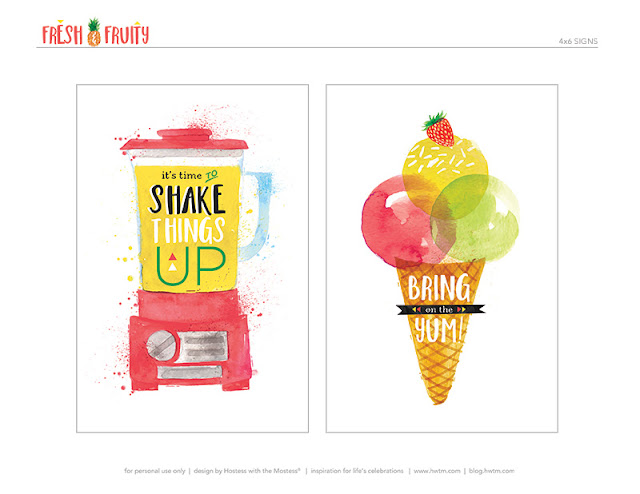 Etiquetas de Fruta Fresca para imprimir gratis.