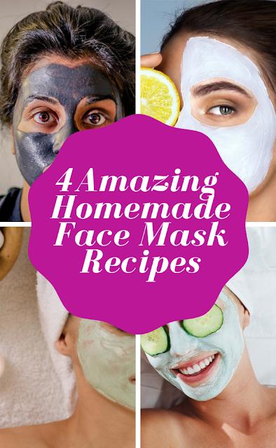 4 amazing homemade face mask recipes