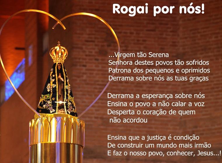 Oração Da Noite Nossa Senhora Aparecida Rogai Por Nós: Rogai Por Nós, Santa Mãe Do Brasil