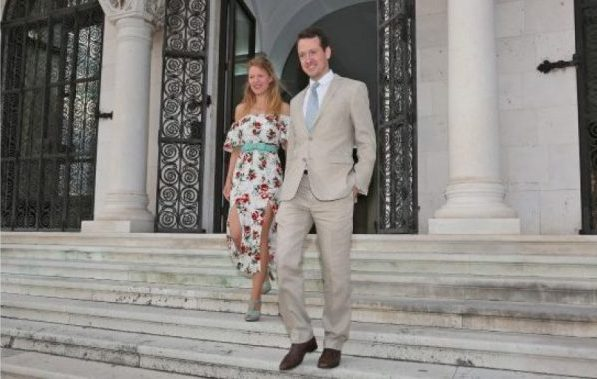 Fiancé of Prince Philip of Serbia promotes Serbia through Art