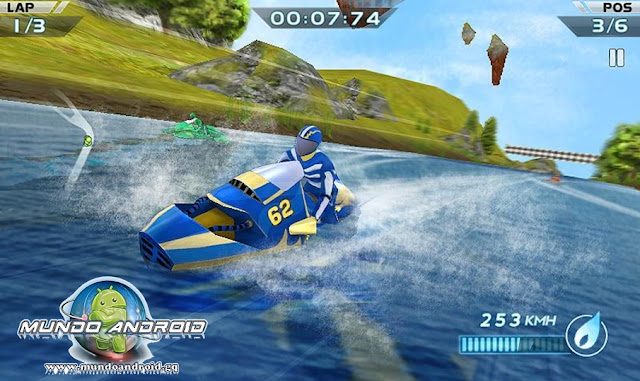 Jugabilidad de Powerboat Racing