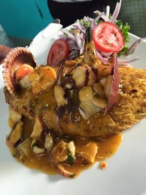 ceviche, comida peruana, ceviche en Chorrillos