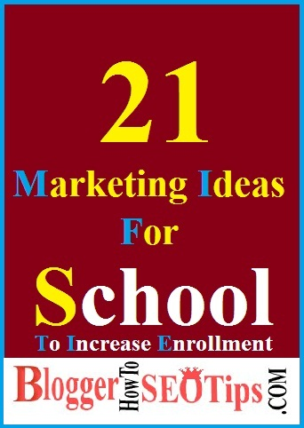 Increase Admissions, Marketing Ideas, School Marketing, Enrollment