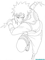 Naruto Shippuden Printable Kids Coloring Pages