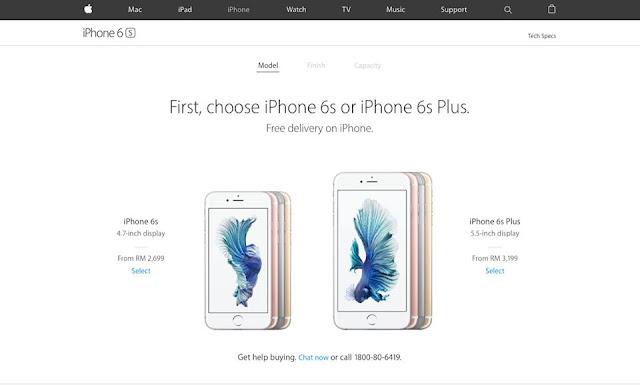 iPhone 6s dan iPhone 6s Plus Turun Harga Selepas iPhone 7 dan iPhone 7 Plus di Keluarkan. Berikut Harga Terbaru