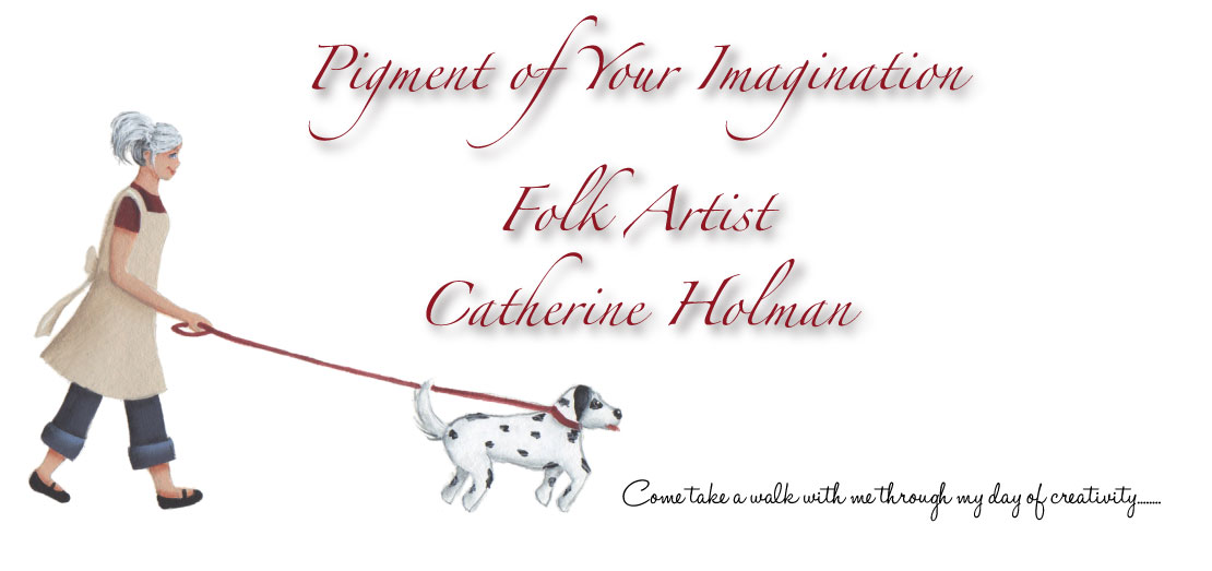 Catherine Holman Folk Art