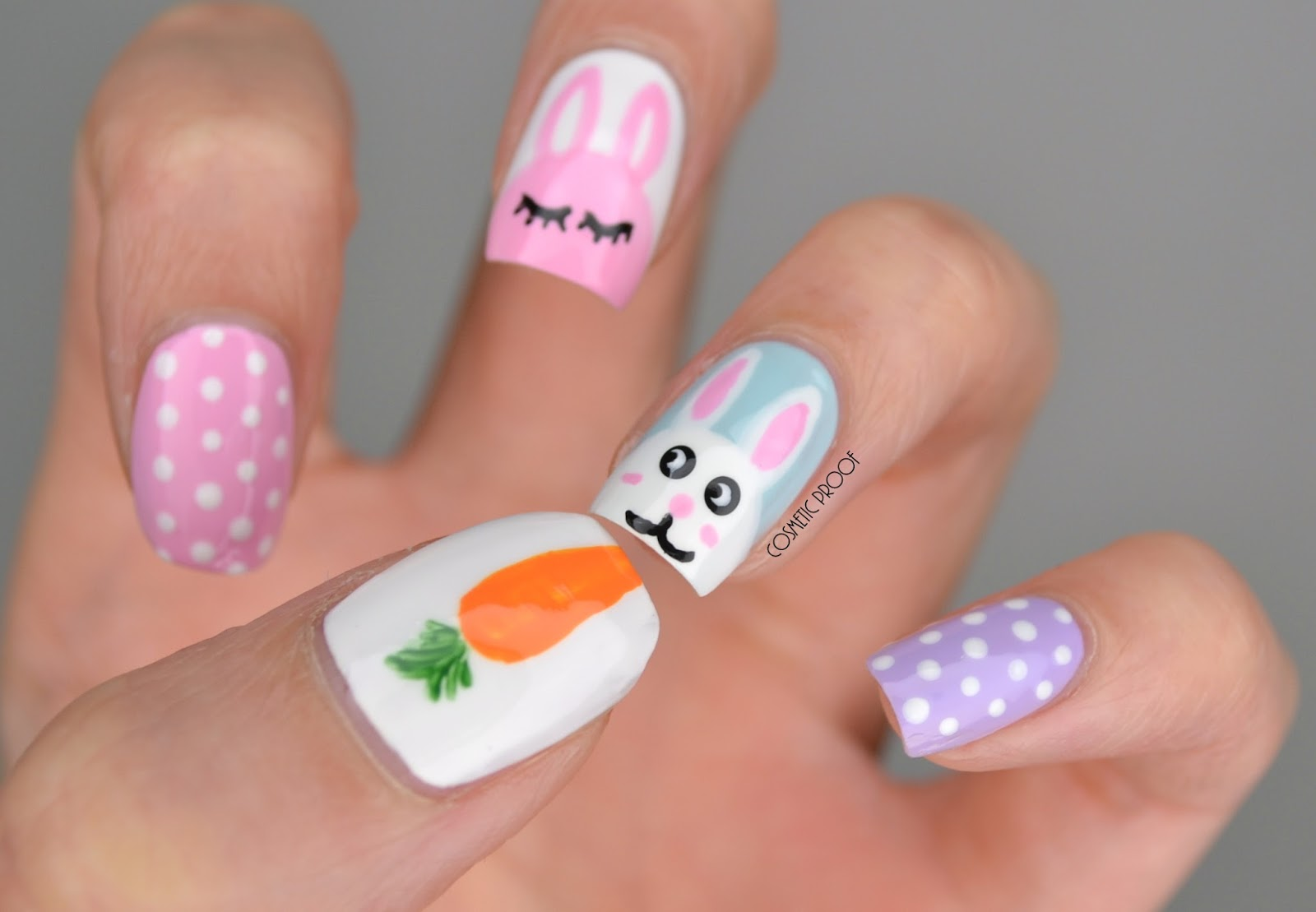 NAILS | What Does a Bunny Like to Eat? #ManiMonday | Cosmetic Proof ...