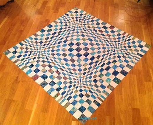 3D OP Quilt Free Pattern