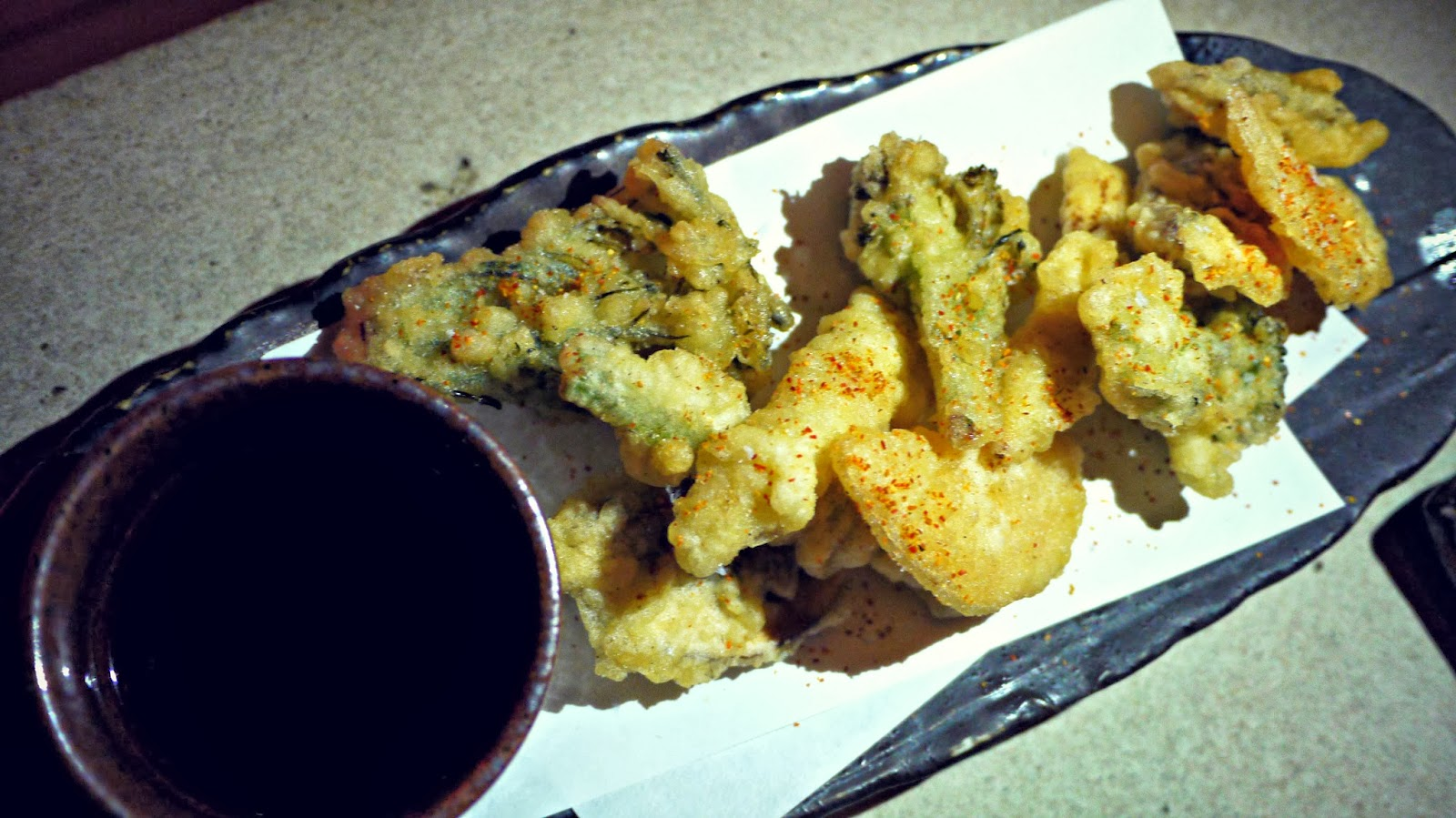 Sushisamba London Tempura Food Review