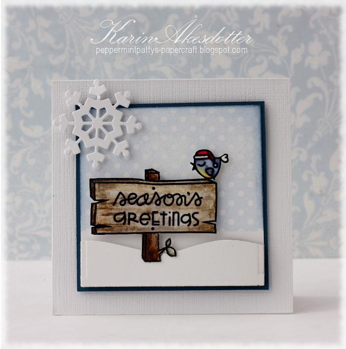 Peppermint Patty S Papercraft Season S Greetings