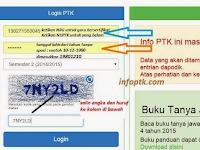 Cek Info PTK / GTK Terbaru Semester 2 Tahun Pelajaran 2016/2017