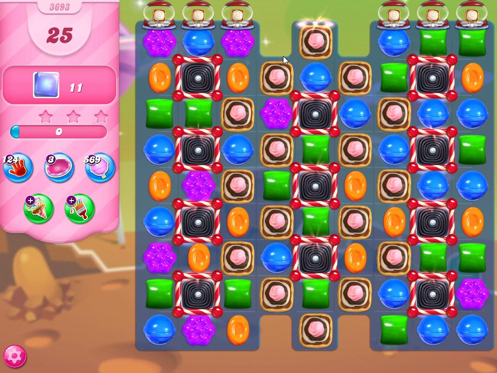 Candy Crush Saga level 3693