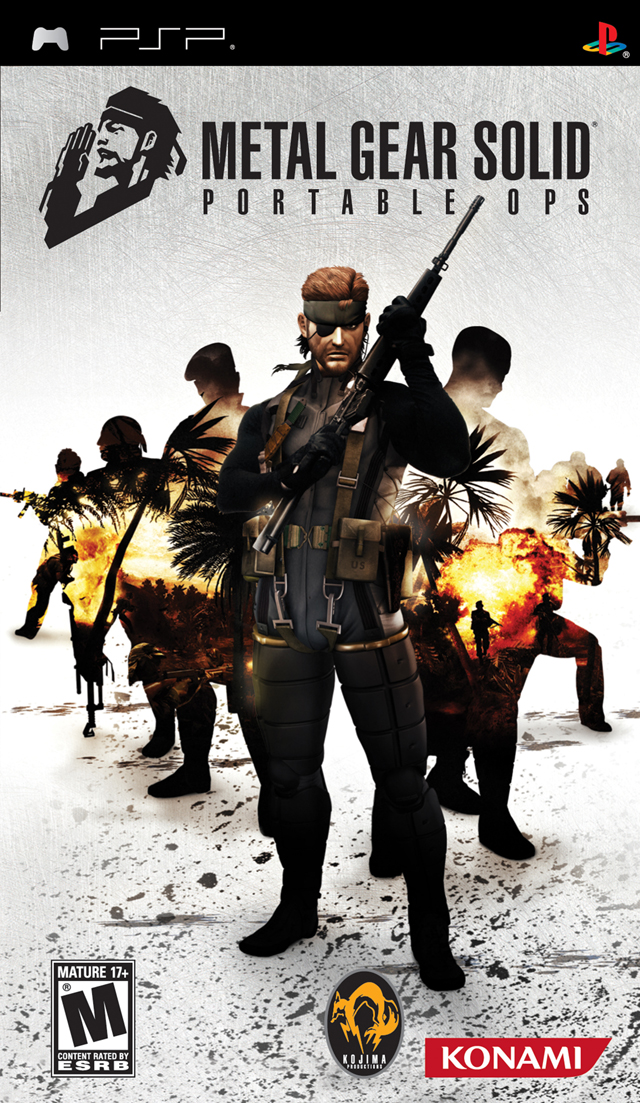 ROMs - Metal Gear Solid - Portable Ops - PSP Download