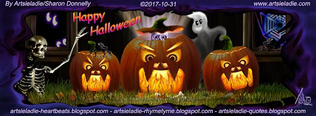 Halloween Facebook cover (4) by Artsieladie
