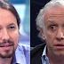 """Eduardo Inda estalla contra Pablo Iglesias: """"es más falso que Judas y un repugnante machista"""""""