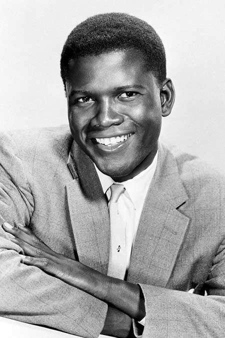 Sidney Poitier young