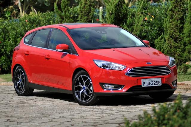 Ford Focus - 7º carro menos vendido do Brasil em 2018