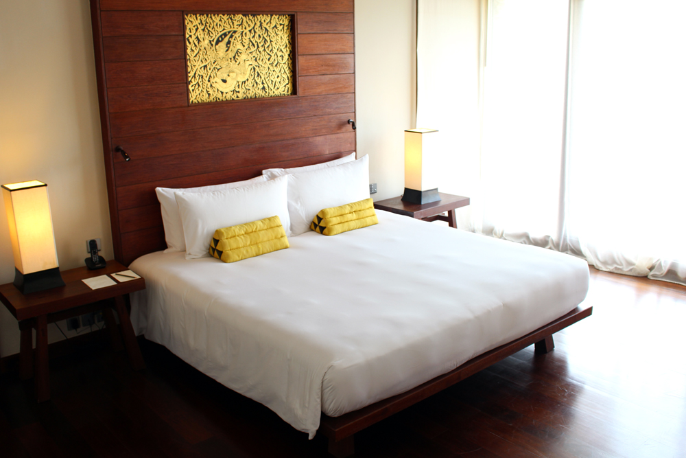 Bedroom at Paresa hotel Phuket, Thailand | travel blog