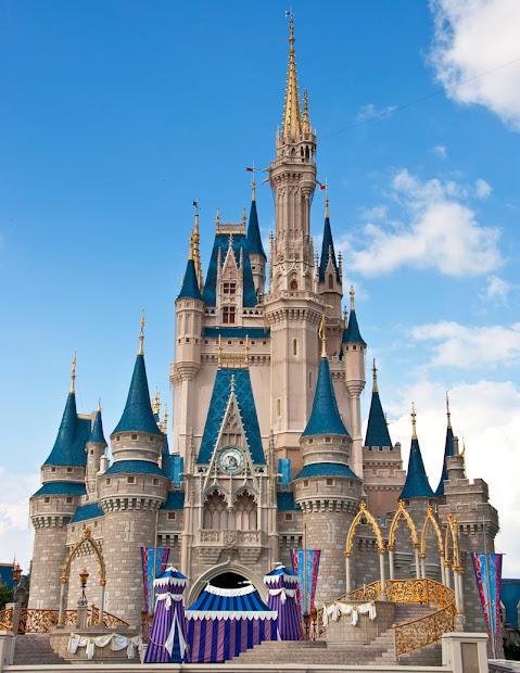 Disney World Cinderella Castle