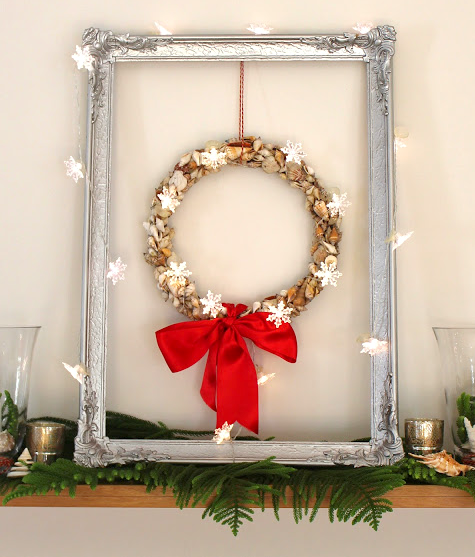 Christmas Shell Wreath