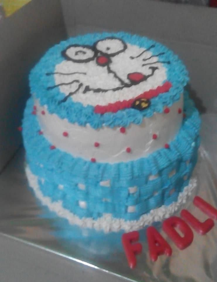 Kue Ulang Tahun Gambar Kartun Atau Karakter Toko Kue Barka
