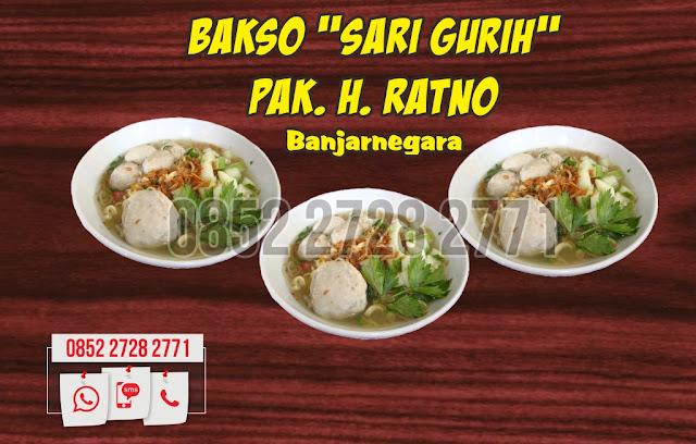 Bakso, Bakso Banjarnegara, 0852-2728-2771