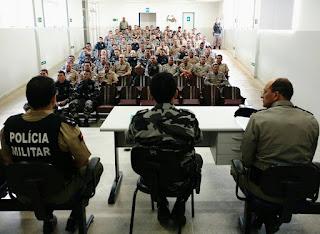 9º BPM realiza formatura Militar em Cuité