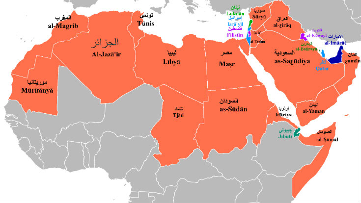 List Of Countries That Speak Arabic - Language speaking countries