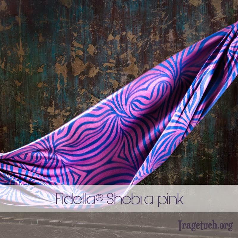 Fidella Wrap Shebra Pink in size 5.