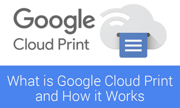 Google Cloud Print with multiple accounts - that's how it works