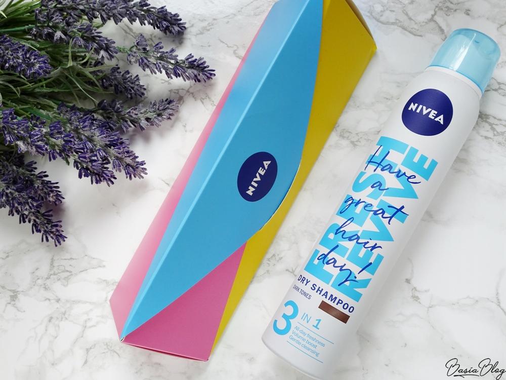Nivea Fresh Revive, suchy szampon dla brunetek (dark tones)