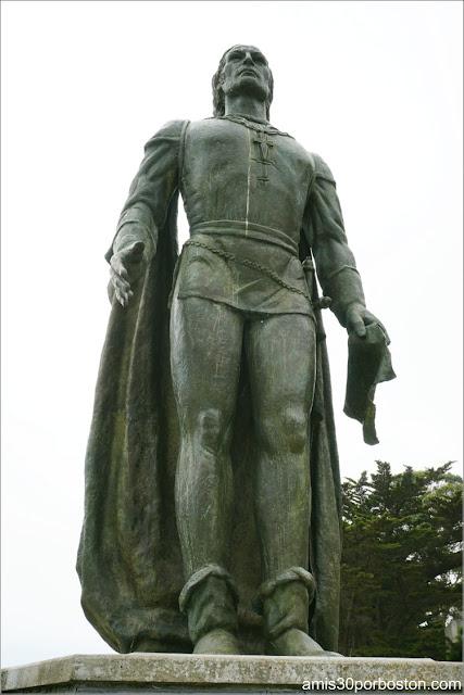 Estatua de Cristóbal Colón en San Francisco
