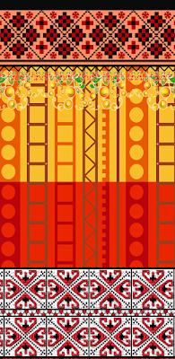 Flower Clipart Border, flower border, clipart border, PNG Border, textile design,textile,design,textile art and design,border design,draw textile design,border designs,border line design, easy border designs, textile border design