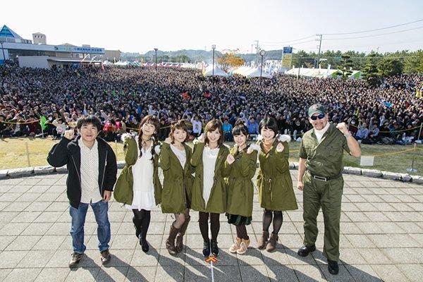 Girls und Panzer ajuda a trazer 100.000 turistas em cidade no Japão