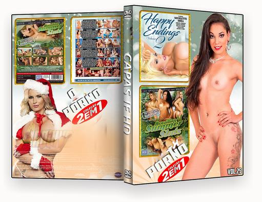 CAPA DVD – COLEÇÃO PORNO DVD-R VOL 25 – ISO