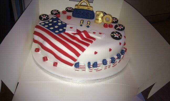 Sam S Cakes American Themed Cake