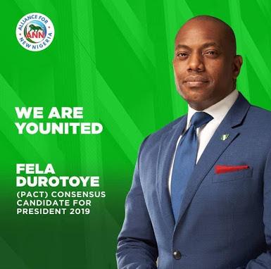 Fela Durotoye Emerges PACT Alternative Candidate For 2019