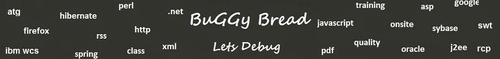 Buggy Bread - Java Questions | Tests | Tutorials | Search | Best of Java