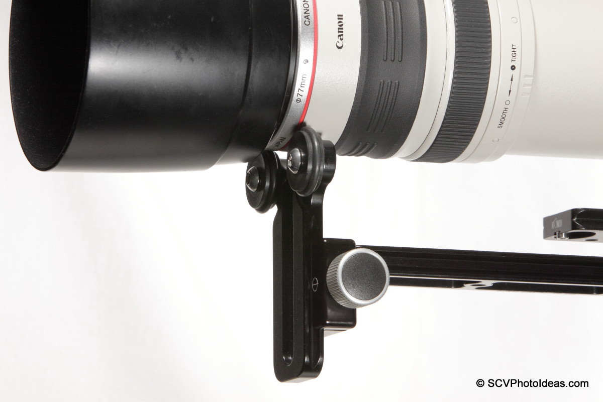 Versatile LLSB front end - lens barrel support - closup