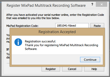 Mix Pad 5.98 Registration Code