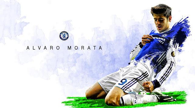 Alvaro Morata Memuji Pelatih Chelsea Setibanya di London