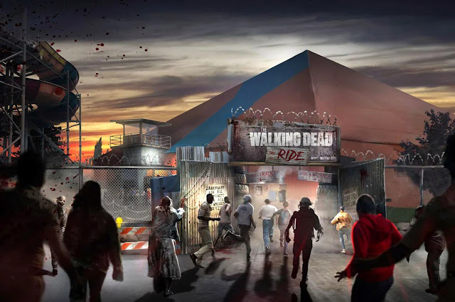 The Walking Dead: le montagne russe!