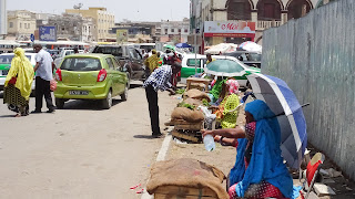 Busy place for trading Khat and food