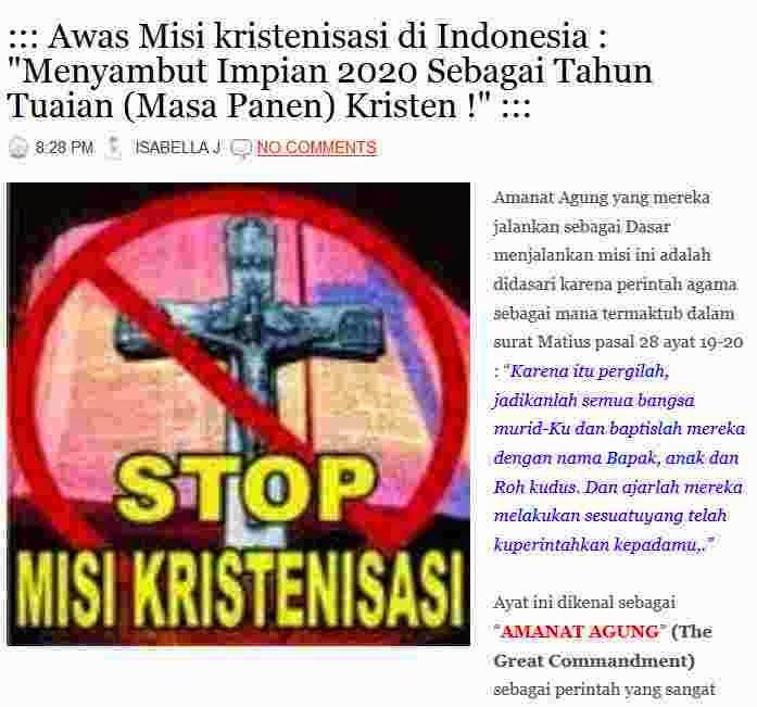 http://duniamuallaf.blogspot.com/2013/12/awas-misi-kristenisasi-di-indonesia.html#more