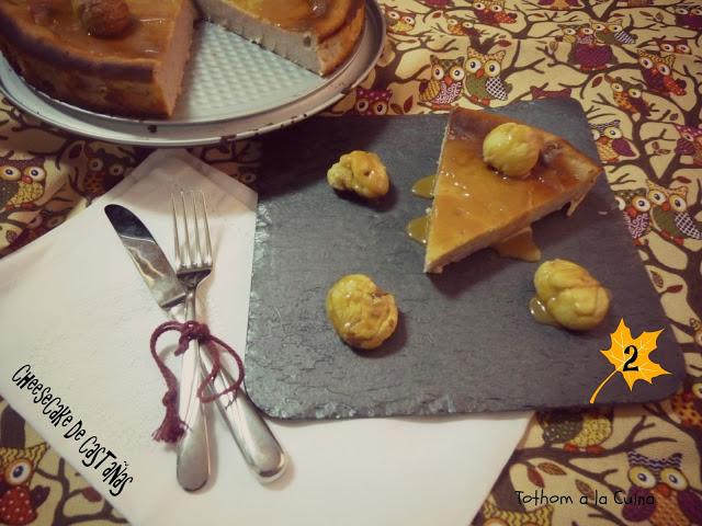 cheesecake-castañas