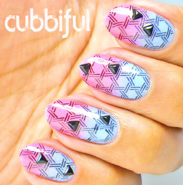 Geometric Gradient Nails