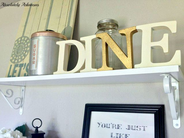 Kitchen Letters Art